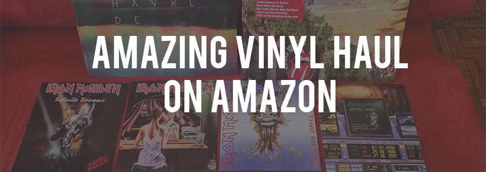 Incredible Amazon Vinyl Haul: 650$ worth of records for 100$