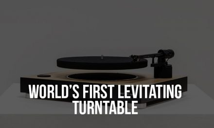 The First Levitating Turntable Raises $300,000