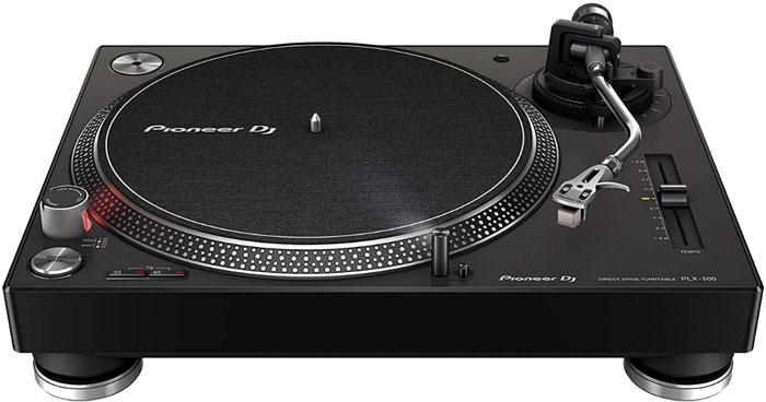 Pioneer PLX 500 dj turntable